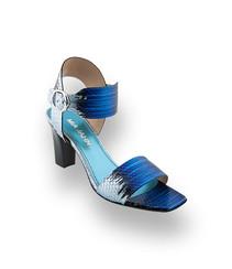 mia jahn sandale blau schlange